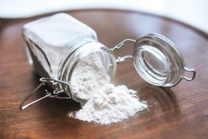 baking soda for weed control